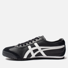 Кроссовки Onitsuka Tiger Mexico 66 Black/White фото- 5