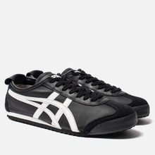 Кроссовки Onitsuka Tiger Mexico 66 Black/White фото- 0