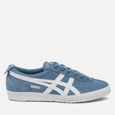 Кроссовки Onitsuka Tiger Mexico Delegation Blue Heaven/White