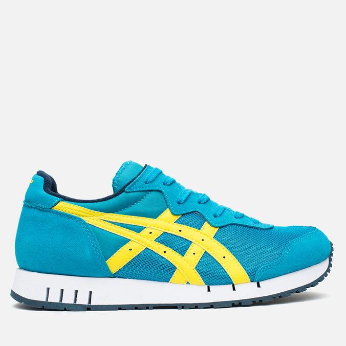 Кроссовки Onitsuka Tiger X-Caliber Hawaiian Ocean/Blazing Yellow