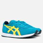 Кроссовки Onitsuka Tiger X-Caliber Hawaiian Ocean/Blazing Yellow фото- 1