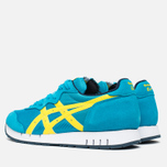 Кроссовки Onitsuka Tiger X-Caliber Hawaiian Ocean/Blazing Yellow фото- 2
