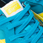 Ontisuka Tiger X-Caliber Sneakers Hawaiian Ocean/Blazing Yellow photo- 6