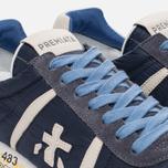 Мужские кроссовки Premiata Lucy 1298E Dark Navy/Blue фото- 5