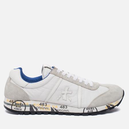 Мужские кроссовки Premiata Lucy 206E White/Grey