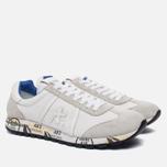 Мужские кроссовки Premiata Lucy 206E White/Grey фото- 1
