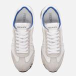 Мужские кроссовки Premiata Lucy 206E White/Grey фото- 4
