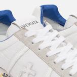 Мужские кроссовки Premiata Lucy 206E White/Grey фото- 5
