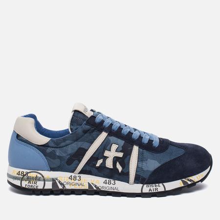 Мужские кроссовки Premiata Lucy 2113 Navy/Blue