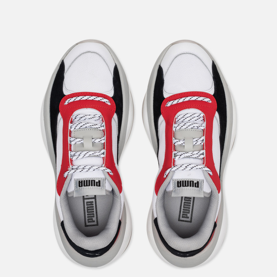 Кроссовки Puma Alteration Core White/High Risk Red