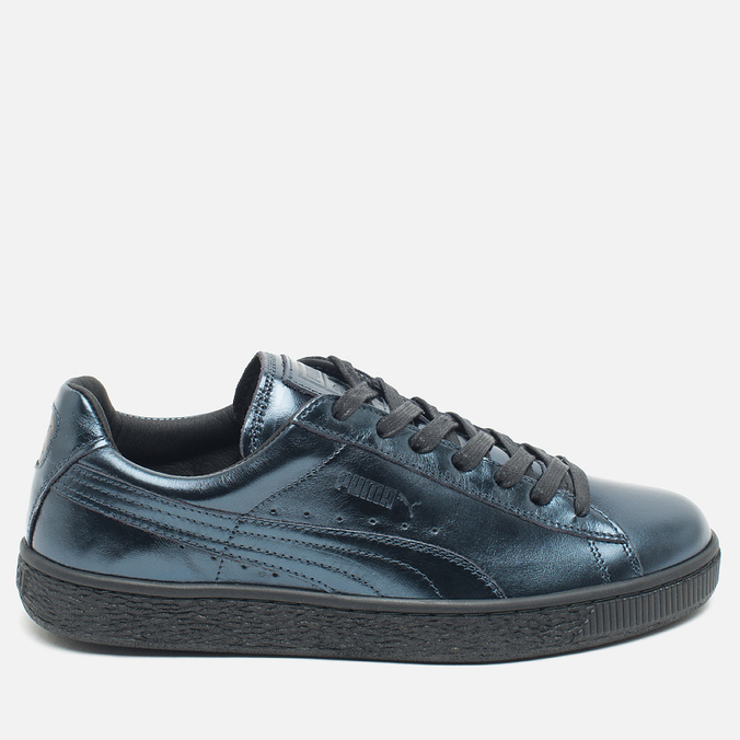Женские кроссовки Puma Basket Classic Metallic Pack Indigo/Black