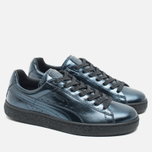 Женские кроссовки Puma Basket Classic Metallic Pack Indigo/Black фото- 1
