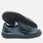 Женские кроссовки Puma Basket Classic Metallic Pack Indigo/Black фото- 2