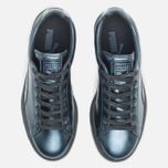 Женские кроссовки Puma Basket Classic Metallic Pack Indigo/Black фото- 3