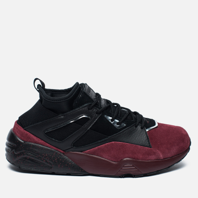 Puma Blaze of Glory Sock Halloween Cabernet/Black