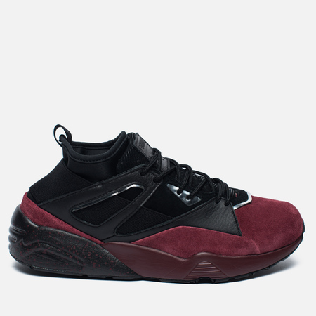 Puma Blaze of Glory Sock Halloween Sneakers Cabernet/Black