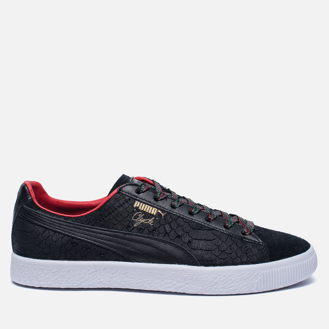 Кроссовки Puma Clyde GCC Black/High Risk Red