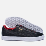 Кроссовки Puma Clyde GCC Black/High Risk Red фото- 1