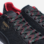 Кроссовки Puma Clyde GCC Black/High Risk Red фото- 5