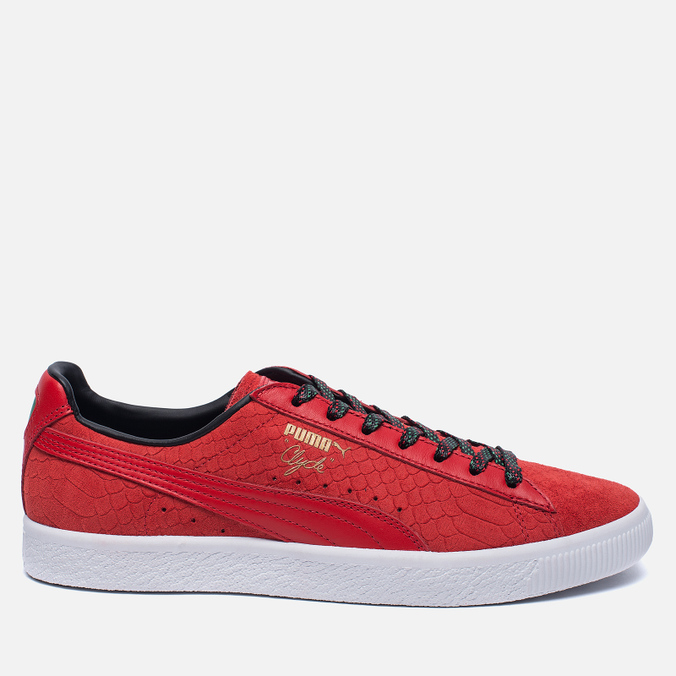Кроссовки Puma Clyde GCC High Risk Red/Black