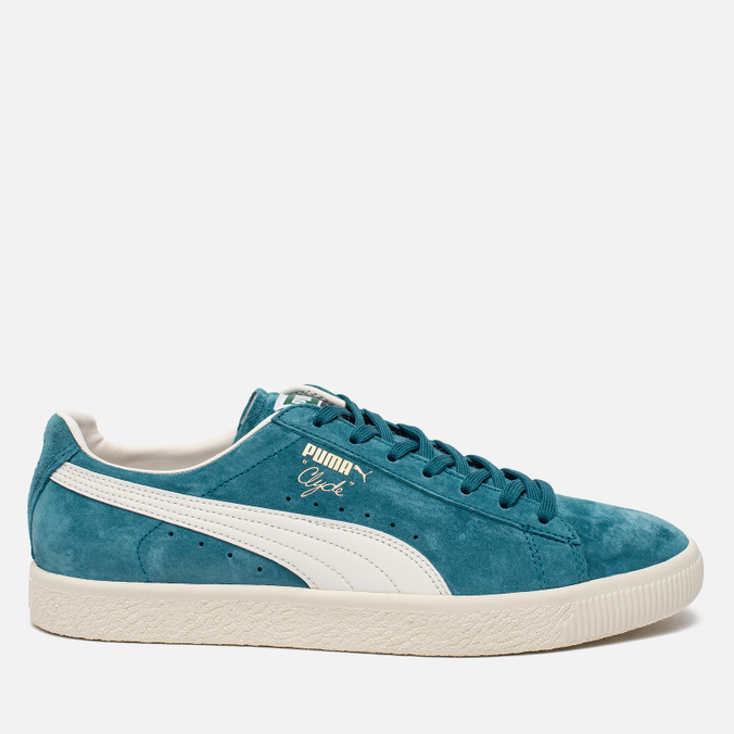 Кроссовки Puma Clyde Premium Core Harbor Blue/Whisper White