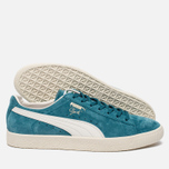 Кроссовки Puma Clyde Premium Core Harbor Blue/Whisper White фото- 1