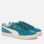 Кроссовки Puma Clyde Premium Core Harbor Blue/Whisper White фото- 2