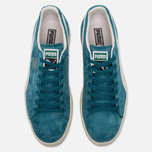 Кроссовки Puma Clyde Premium Core Harbor Blue/Whisper White фото- 4