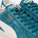 Кроссовки Puma Clyde Premium Core Harbor Blue/Whisper White фото- 5