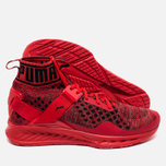 Puma Ignite evoKNIT High Risk Men's Sneakers Red/Black photo- 1