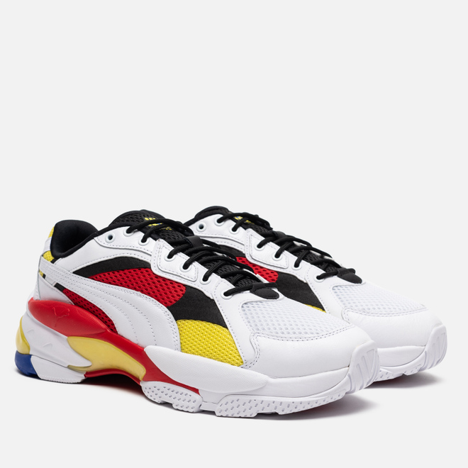 Кроссовки Puma LQD Cell Epsilon White/High Risk Red