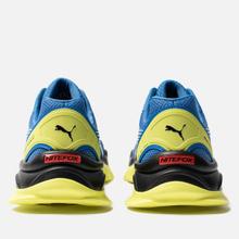 Кроссовки Puma Nitefox Highway Palace Blue/Fluo Yellow фото- 2