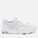 Кроссовки Puma R698 Core Leather White фото- 0
