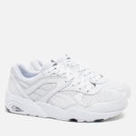 Кроссовки Puma R698 Core Leather White фото- 1