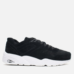 Кроссовки Puma R698 Soft Pack Black/White фото- 0