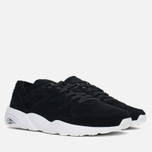 Кроссовки Puma R698 Soft Pack Black/White фото- 1