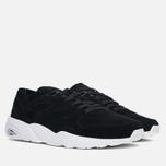 Puma R698 Soft Pack Sneakers Black/White photo- 1