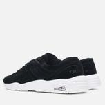 Puma R698 Soft Pack Sneakers Black/White photo- 2