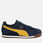 Мужские кроссовки Puma Roma Gents Peacoat/Old Gold/White фото- 0