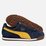 Мужские кроссовки Puma Roma Gents Peacoat/Old Gold/White фото- 1