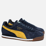 Мужские кроссовки Puma Roma Gents Peacoat/Old Gold/White фото- 2