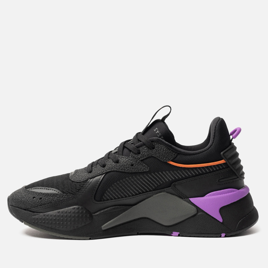 Кроссовки Puma RS-X Hard Drive Black/Dark Shadow
