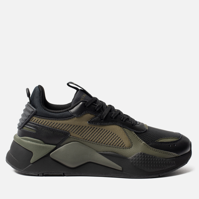 Кроссовки Puma RS-X Winterized Black/Burnt Olive