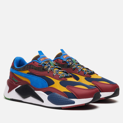 Мужские кроссовки Puma RS-X3 Mix Dark Denim/Burnt Russet