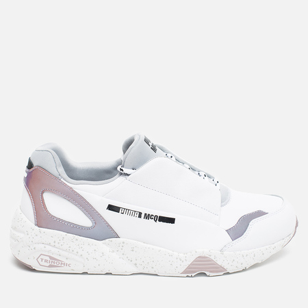 Puma x Alexander Mcqueen Lace Up Sneakers White/Glacier Grey/Quail
