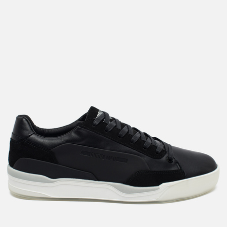 Puma x Alexander McQueen Move Lo Lace Up Sneakers Black/White