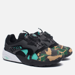 Мужские кроссовки Puma x atmos Disc Blaze Night Jungle Black/Electric Green фото- 2