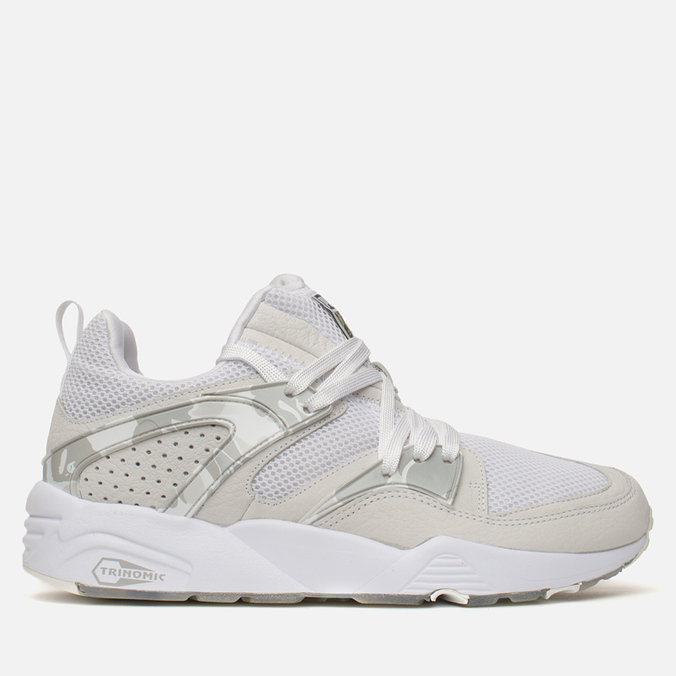 0d2393a1fb4d Кроссовки Puma x Bape Blaze of Glory White 358844-01