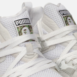Кроссовки Puma x Bape Blaze of Glory White фото- 5