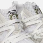 Кроссовки Puma x Bape Blaze of Glory White фото- 5